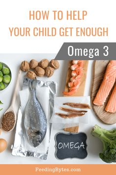 Is your child getting enough Omega (especially DHA and EPA)? The easiest and most efficient way to get enough of these healthful fats is by eating cold water fish. Learn how much Omega 3 children need, and how to include Omega 3 in your child's diet. Toddler Nutrition, Nutrition Tips, Healthy Eating For Kids, Kids Diet, Eat Healthy, Baby Food Recipes, Diet Recipes, Omega 3 Foods, Nutrient Rich Foods