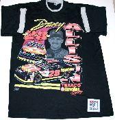 Davey Allison t-shirt - vintage NASCAR - Vintage Basement.