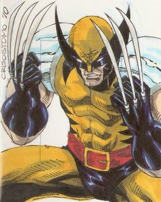 Wolverine by Dennis Crisostomo *