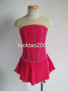 Gorgeous Figure Skating Dress Ice Skating Dress 8119 size 12   Sporting Goods, Winter Sports, Ice Skating   eBay!
