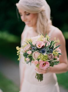 Pretty #wedding bouquet captured by Christina Brosnan | onefabday.com