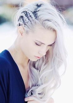 100 Trendy Long Hairstyles for Women: Crownrows . - 100 Trendy Long Hairstyles for Women: Crownrows Easy Hairstyles For Long Hair, Great Hairstyles, Wedding Hairstyles, Rocker Hairstyles, Viking Hairstyles, Side Braids For Long Hair, Wedding Updo, Curly Hairstyles, Concert Hairstyles