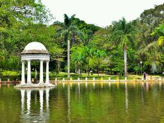 Parque Municipal Américo Renné Giannetti em Belo Horizonte, MG