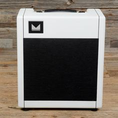 Morgan PR12 1x12 12W Combo White w/Black Grille w/Celestion Greenback USED (s014)