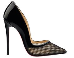 christian louboutin. miluna pointed-toe pump. pretty with a touch of sexy!
