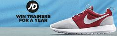 Win JD trainers for a year - http://www.competitions.ie/competition/win-jd-trainers-for-a-year/