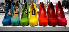 shoes shoes shoes rainbow :)