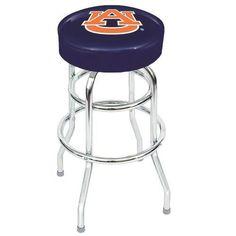 Auburn University Tigers Backless Swivel Sports Bar Stool