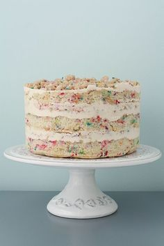 Homemade Momofuku Milk Bar Birthday Cake | kitchenhealssoul.com