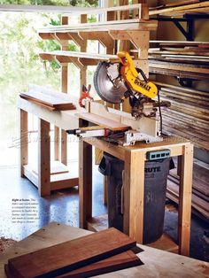 #2443 Build Miter Saw Stand - Miter Saw