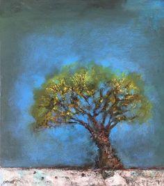 Gail Catlin Tree Oil on board 34 Tree Oil, Art Gallery, Paintings, Artwork, Artist, Art Museum, Work Of Art, Fine Art Gallery, Painting Art