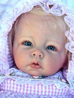 "Reborn Baby  Doll Gorgeous ""Shayla""  Elly Knoops Luca"