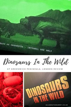 Last month we were invited to the launch of Dinosaurs In The Wild, the new immersive walk though experience at Greenwich Penninsula, London. Dinosaurs In The Wild transports visitors back in time to the cretaceous period and a world choked full of dinosau Greenwich Peninsula, Mummy Bloggers, Dinosaurs, About Me Blog, Parenting, Posts, Club, London, Group
