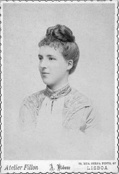 Younger Amélie d'Orléans, Queen of Portugal | Grand Ladies | gogm