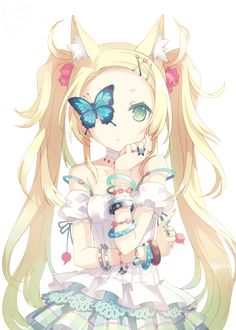 Kawaii Neko ^u^ Anime Kawaii, Anime Chibi, Mangaka Anime, Chat Kawaii, Me Anime, Fanarts Anime, Anime Girls, Anime Love, Anime Characters