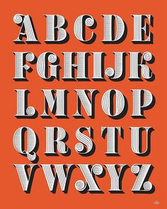 Hand Lettering / Lettering / Digital Lettering / Vector Lettering / Hand Lettering Alphabet by Martina Flor Font Design, Lettering Design, Hand Lettering Alphabet, Buch Design, Pretty Fonts, Computer Art, Planner Pages, Typography Inspiration, Types Of Art