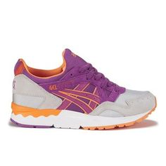Asics Gel-lyte V Trainers - Soft Grey/Hyacinth Violet