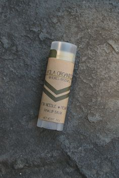 fir needle  hemp  raw lip balm by KILAandPEOPLE on Etsy