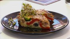 Zapiekanka warzywna, Przepis dnia Tacos, Mexican, Ethnic Recipes, Food, Meals, Yemek, Eten