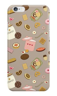 'Cookie Party' iPhone Case by ellenyang