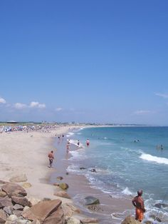 Charlestown Town Beach, July 4, 2012. An absolutely gorgeous day!