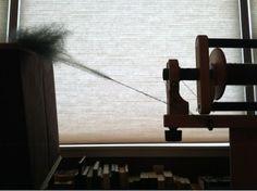Math4Knitters: A Little #Spinning #wool