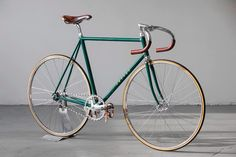 beautiful fixed gear bicycle.