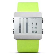 aquamarine watch / seledynowy zegarek