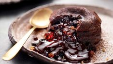 Christmas dessert that's a bit more decadent, thanks to Family Food Fight judge Anna Polyviou.