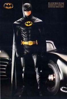 Batman (Michael Keaton) 1989.