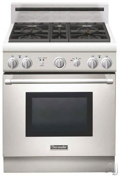 "Thermador PRG304GH 30"" Pro-Style Gas Range with 4 Sealed Star Burners, $4100"
