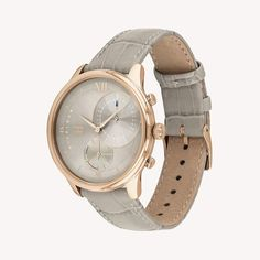 Tommy Hilfiger Watch With Grey Embossed Leather Strap , Tommy Hilfiger Watches, Tommy Hilfiger Women, Teen Winter Outfits, Direct Marketing, Crocs, Grey, Leather, Accessories, Fashion