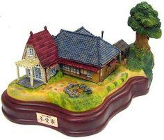 TOTORO Lighting diorama KUSAKABE Figure Ghibli Hayao Miyazaki Japan gift rare
