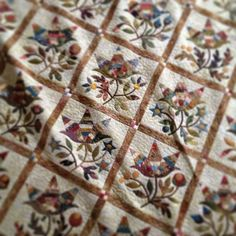 Laundry Basket Quilt of the Day - Prairie Peony.