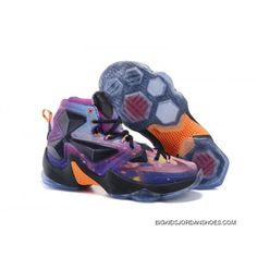 a157e9c4aa8 Nike LeBron 13 Kids Shoes Glow All Star Basketball Shoes Lastest