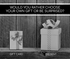 Your own gift or be surprised? #gift #surprised #poll Would You Rather, Presents, Instagram Posts, Cards, Gifts, Favors, Maps, Favors, Playing Cards