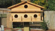 Purple Martin Bird House 1 story by DRcraftyStuff on Etsy, $225.90
