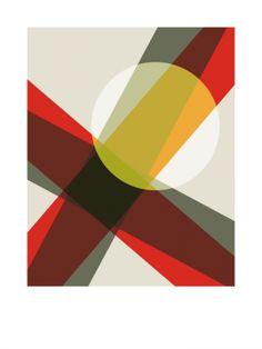 A19 (2010) - Geometric Art by Gary Andrew Clarke