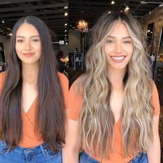 Golden Brown Balayage - 20 Best Golden Brown Hair Ideas to Choose From - The Trending Hairstyle Brown Blonde Hair, Balayage Hair Blonde, Brunette Hair, Blonde Hair With Dark Roots, Balayage Hair Brunette With Blonde, Blonde Highlights On Dark Hair, Balayage Bronde, Blonde Balayage Highlights On Dark Hair, Blonde Asian Hair