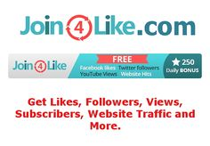 Here Everybody can get 1000+ Pinterest Pins, Likes, Followers and More! http://join4likes.com