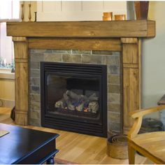 The Woodcliff Fireplace Mantel