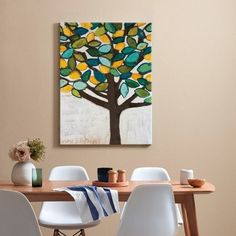 Our Artists' Collection Anna Blatman Lemon Tree Stretched Canvas