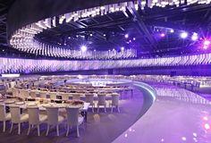 Reception Hall by Design Lab Events Wedding Stage, Wedding Reception, Dream Wedding, Purple Wedding, Event Planning, Wedding Planning, Building Art, Karaoke, Wedding Designs