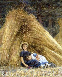 Past Work - Helen Allingham ~ (English 1848-1926)