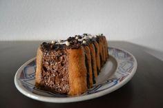 Bûche légère à la mousse au chocolat sans gluten