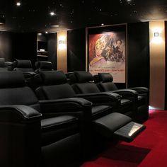 Les 13 Meilleures Images De Salle De Cinema Privee Cinema