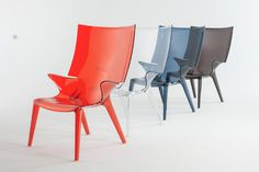 "Philippe Starck Kartell ""Uncle Jim Aunts Collection"" at Salon del Mobile"" Milan Deisgn Week 2014, Image Source designboom.com"