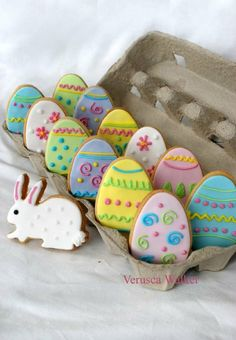 Easter Egg Cookies                                                                                                                                                                                 Mais