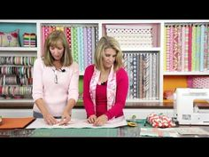 ▶ How-to-Quilt Series: Triangle quilting blocks by Deonn (3 of 9) - YouTube