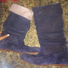 Ugg boots Leather and textile and genuine sheepskin. Super comfy and stylish UGG Shoes Winter & Rain Boots